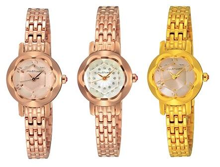 JILLSTUARTの時計ingの3品番SILDA004_SILDA002_SILDA001