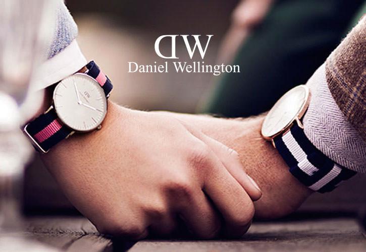 ダニエルウエリントンのペアウォッチ写真