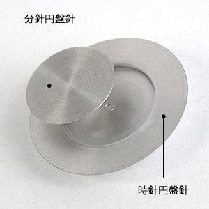 イッセイミヤケの円盤針の写真