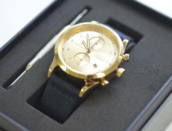 金のトリワの時計の評価