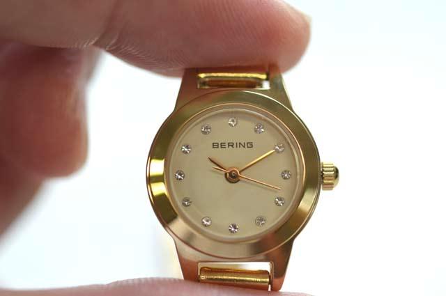 ベーリングの時計レディース ゴールド