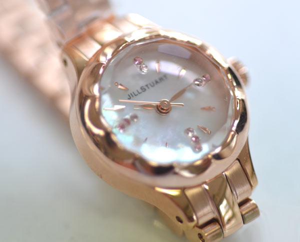 ジルスチュアートの時計フラワーリングNJAF001