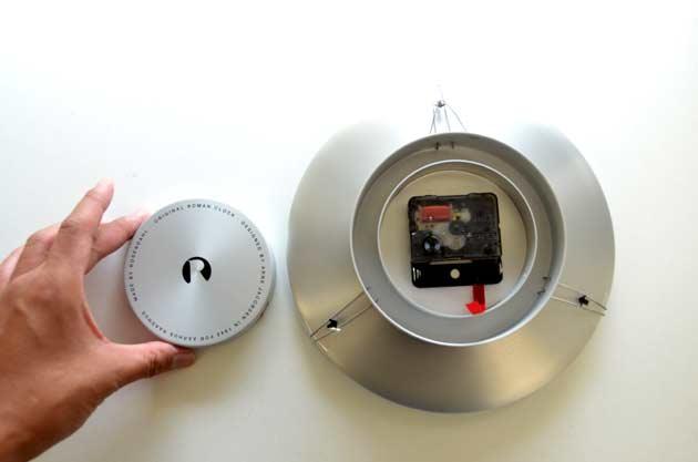 Roman Clockアルネ・ヤコブセンの壁掛け時計ローマン クロック の大きさ評価