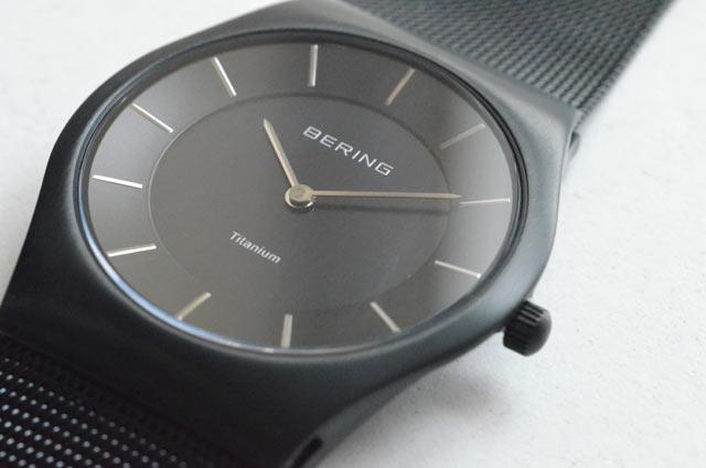 ベーリングの時計11935-222、ブラック、評価