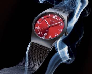 ベーリングの赤い時計