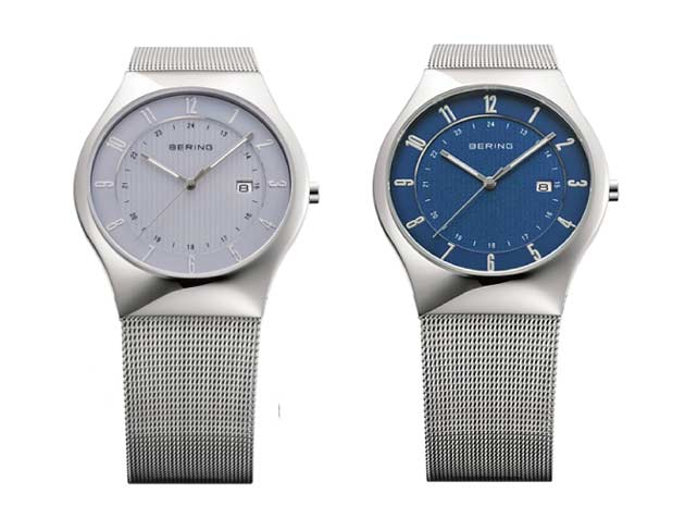 ベーリングのソーラー腕時計
