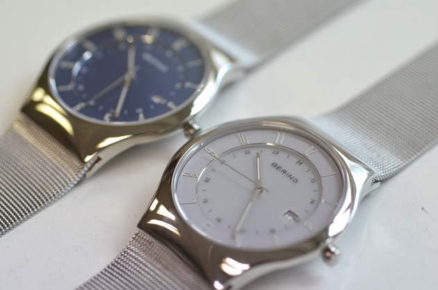 ベーリングのソーラー腕時計ブルーとラベンダー14440-078_14440-004