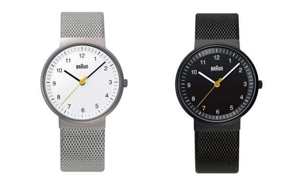 ブラウンのレディース腕時計