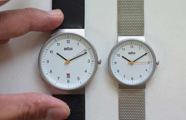 BRAUNブラウンのレディース、腕時計の感想
