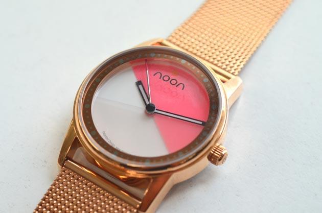 noonヌーンのレディース腕時計45-016レビュー感想