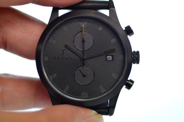 TRIWAトリワの腕時計ブラックSort of Blackの感想 LCST105-CL010113