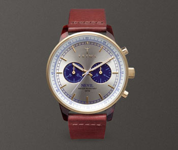 トリワの腕時計クロノグラフNEVILネビルの評価