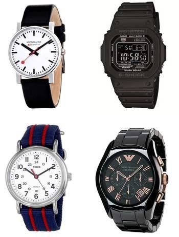 カジュアルな腕時計、人気ブランドの特集