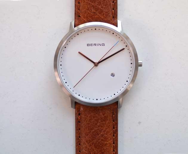 お勧めシンプルな時計ベーリング