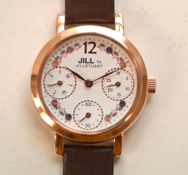 jill byの時計でお勧めのFlower crown_NJAG404