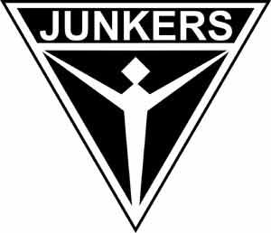 JUNKERS ユンカースの戦闘機のロゴ