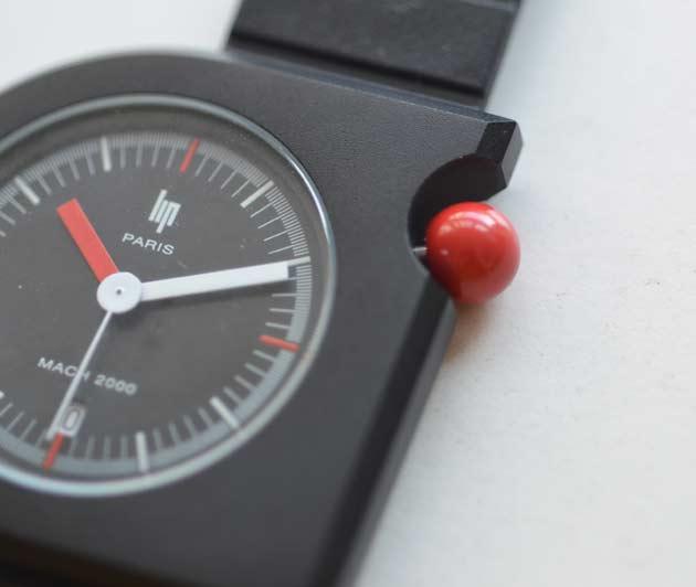 lipリップの時計mach2000マッハのレビュー