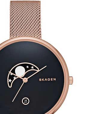 スカーゲンの月の時計GITTE、SKW2371のレビュー