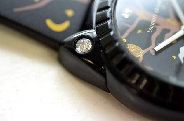 ツモリチサトtsumori chisatoの腕時計スワロフスキー25周年モデル