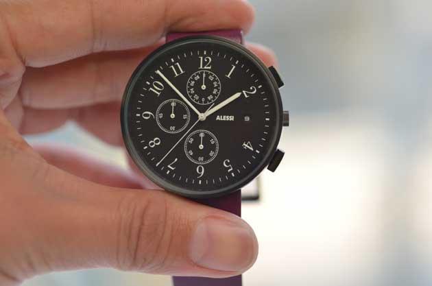 アレッシーALESSIの時計クロノグラフRecordレコード