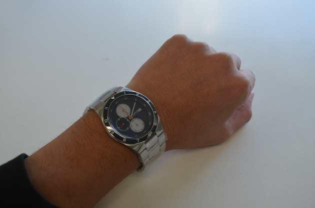 ベーリングのSOLAR ソーラーのクロノグラフの時計34440-708