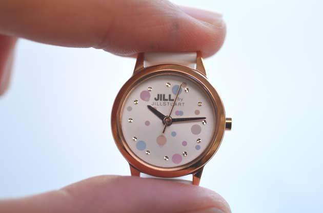 ジルバイジルスチュアートのお勧め時計水玉ラブドット