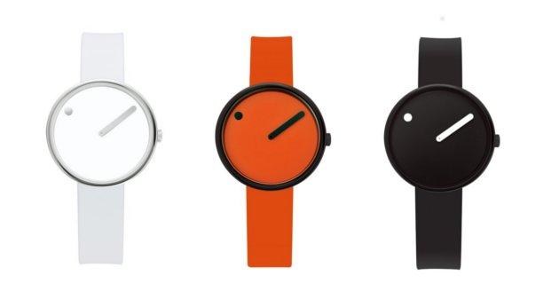 デンマークのミニマルな時計PICTOピクト