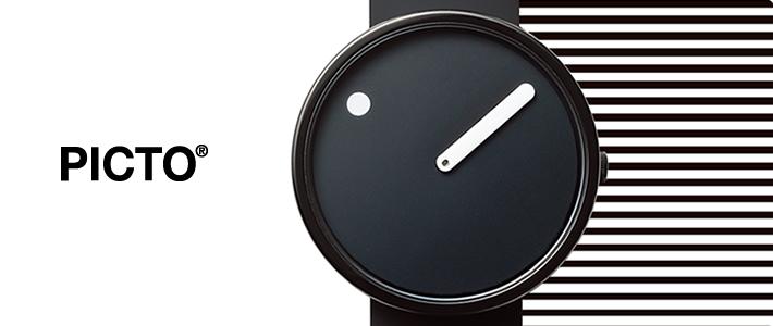 PICTOピクトの時計