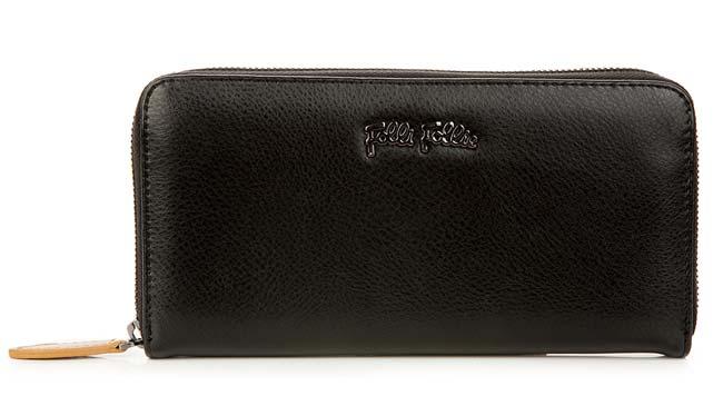 フォリフォリの財布年齢、黒の財布