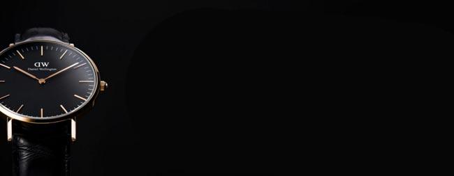 ダニエルウェリントン2016年、新作ブラック黒文字盤の口コミ