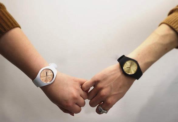 アイスウォッチのペアどんな時計が自分達に似合う?