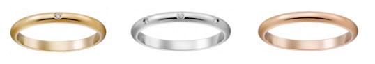カルティエ 結婚指輪 シンプル