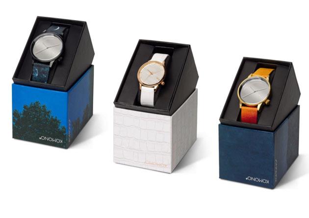 komonoの時計ボックス パッケージ
