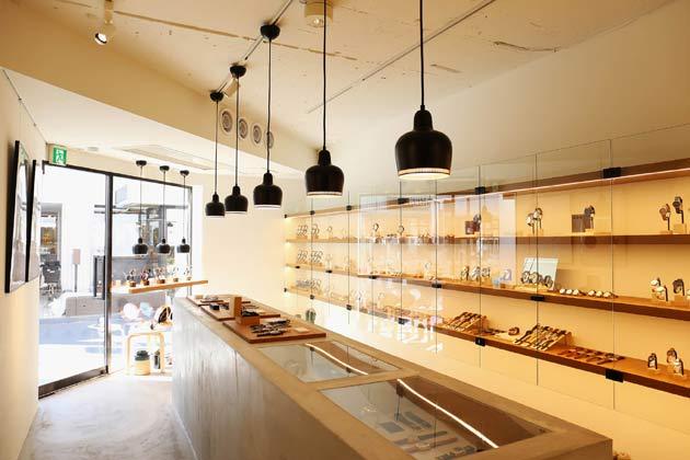 東京のkomonoの時計取り扱い店