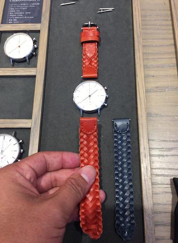 ノットの時計ベルト交換