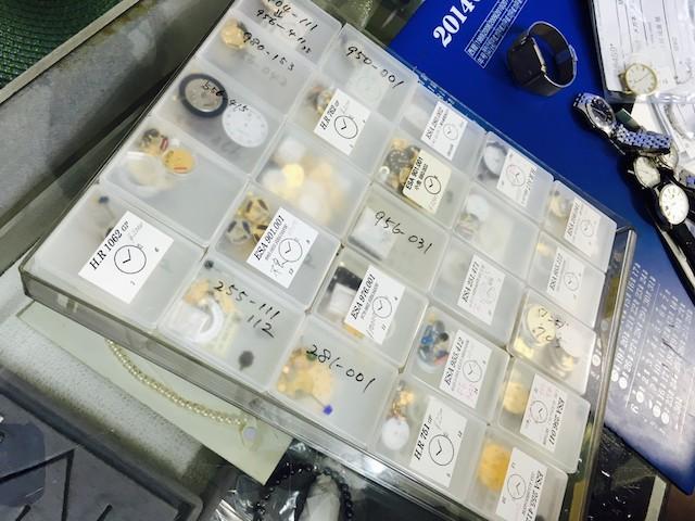 名古屋時計修理工房、時計のオーバーホール