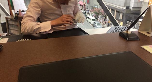渋谷の大黒屋で時計を売るために査定