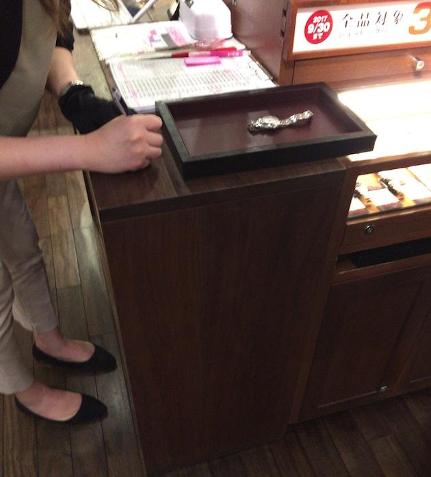 ジャックロードでオメガの買取り査定をしてもらった。