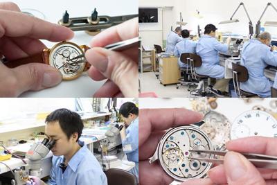 千葉県の時計のオーバーホール