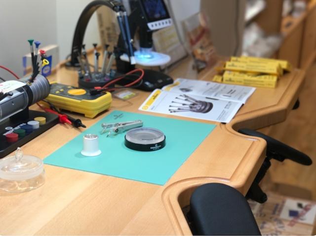 上野で時計のオーバーホールや修理ができる時計店
