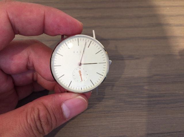 ノット 時計 スモールセコンド