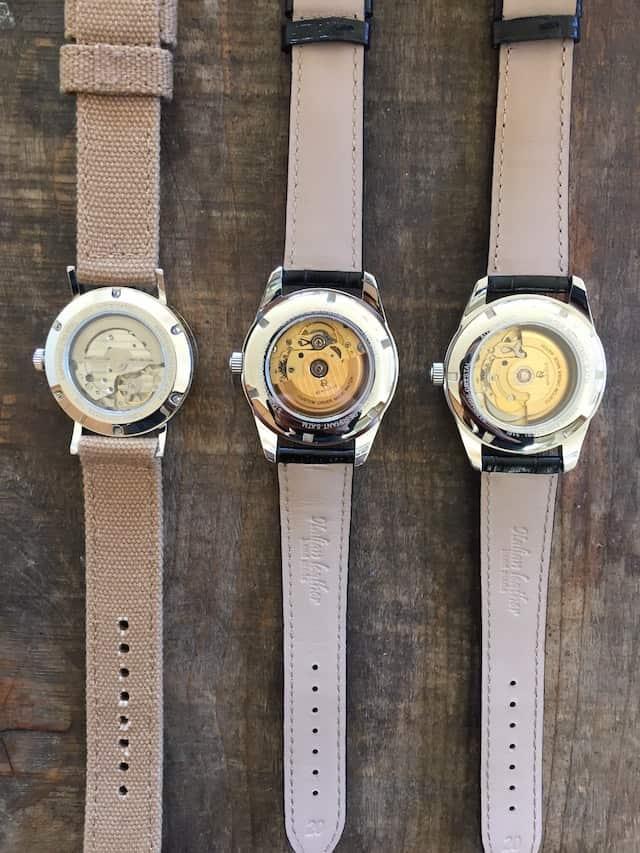 ルノータス 時計の裏側 スケルトン 比較