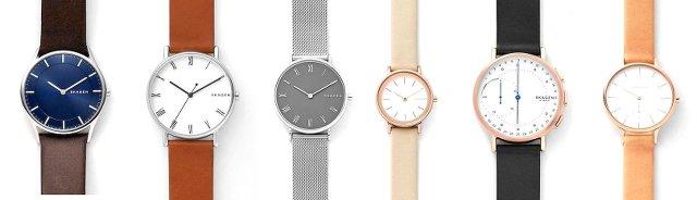 スカーゲンの人気があって、おすすめの時計はコレ!メンズとレディース、ランキング