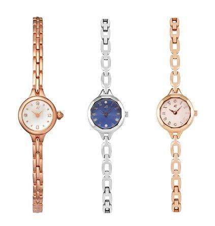 4℃の華奢な腕時計