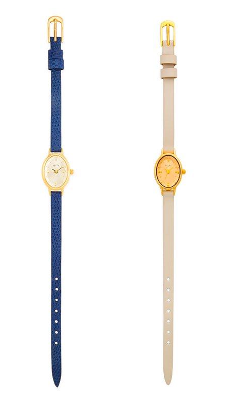 アガット華奢な時計