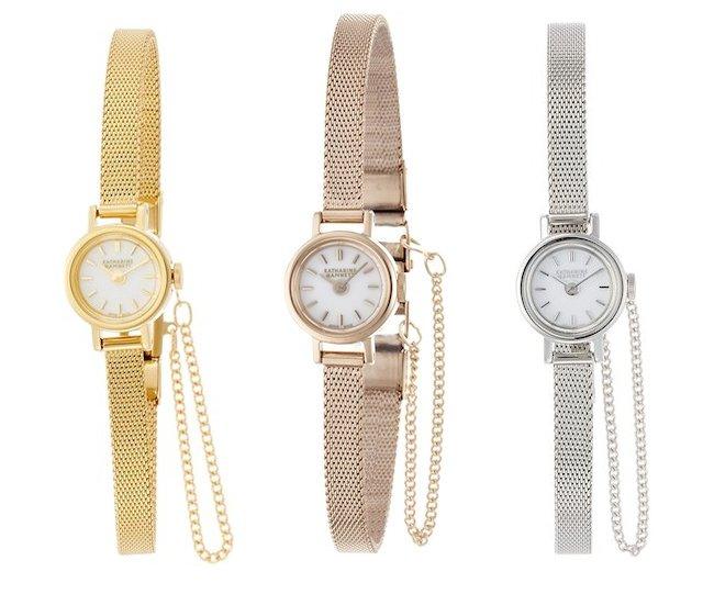 キャサリンハムネットの小さな腕時計