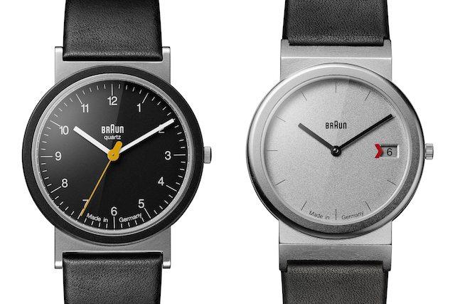 ブラウンの時計AW10とAW50