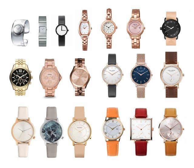 20代におすすめのおしゃれなレディース時計、ブランド一覧!【保存版】