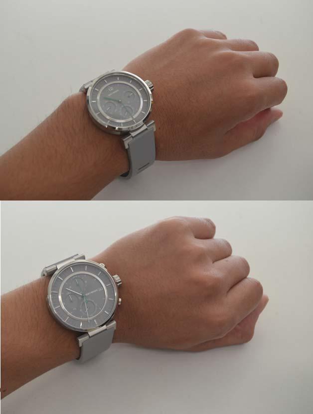 イッセイミヤケ時計W大きさ比較