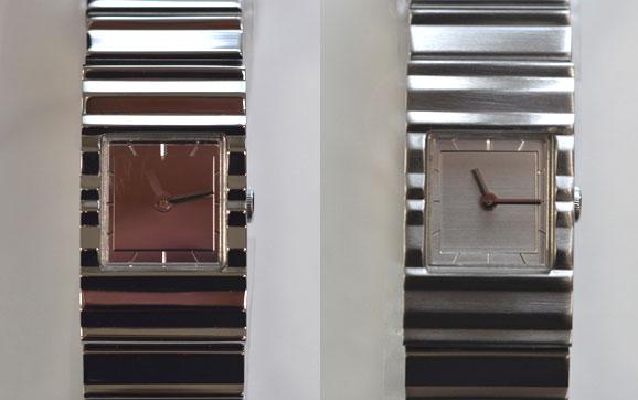 イッセイミヤケ時計Vの比較